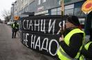 Piketas prie Baltarusijos ambasados